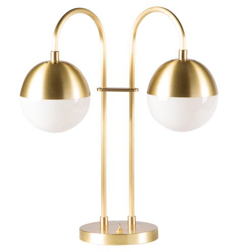 Cedar & Moss Double Table Lamp | Table lamp, Cedar, moss