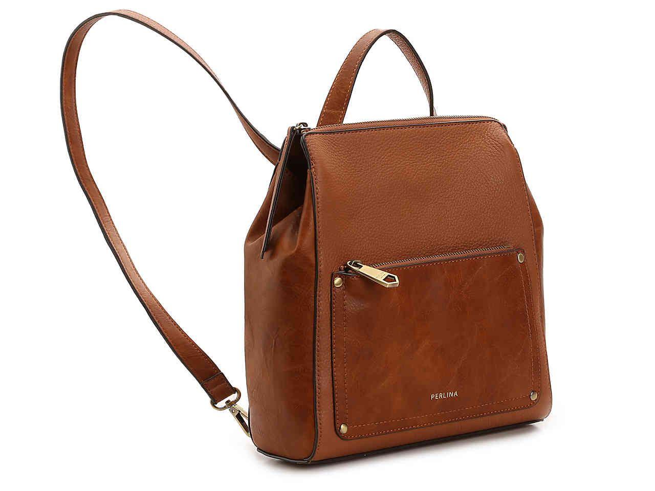 49fdb50f035 Perlina Judi Leather Convertible Backpack Women's Handbags ...