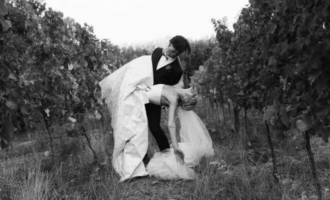 Luc Lenferna de la Motte and Mari Hansen tie the knot at Rickety Bridge Winery - Wedding Album