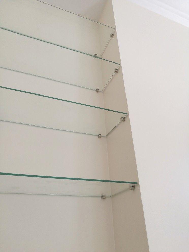 etagere s en verre trempe sur mesure