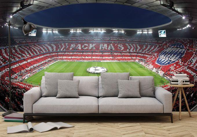 Fototapete Bayern Munchen Stadion Choreo Pack Mas Wall Art