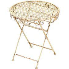 Gartentisch Metall Ebay Gartentisch Klapptisch Metall Tisch