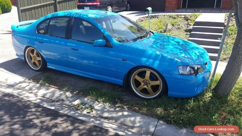 Ford Falcon Bf Xr6 Sedan Mk2
