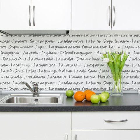 ...for my kitchen.....  French Menu Lettering Stencil | Royal Design Studio
