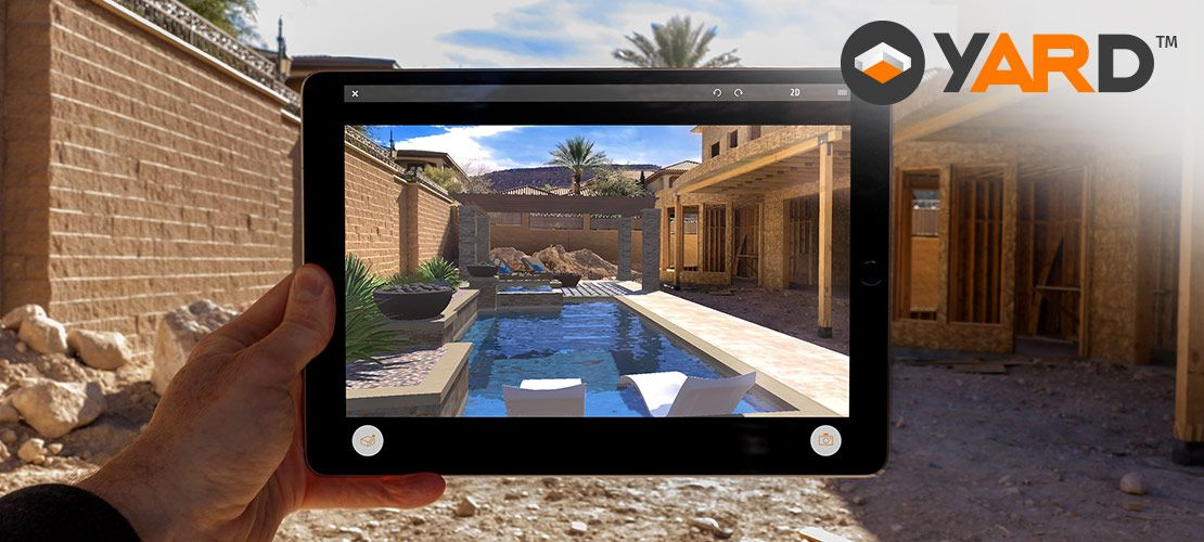 YARD Augmented Reality for Swimming Pools, Outdoor