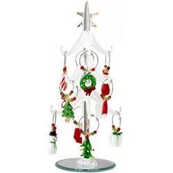 christmas tree christmas wine charms - Christmas Wine Charms
