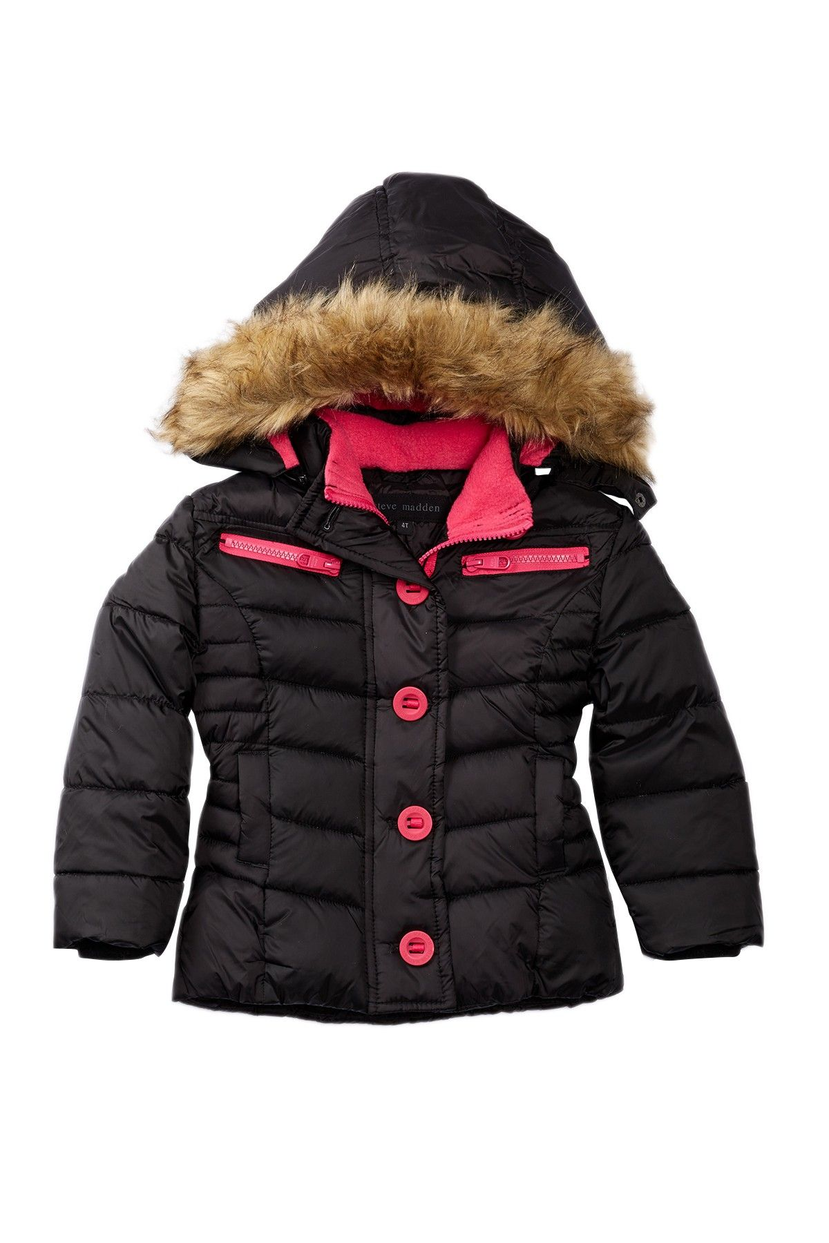aa3b2bbd5 Steve Madden Insulated Quilted Parka (Toddler Girls) by Steve Madden ...
