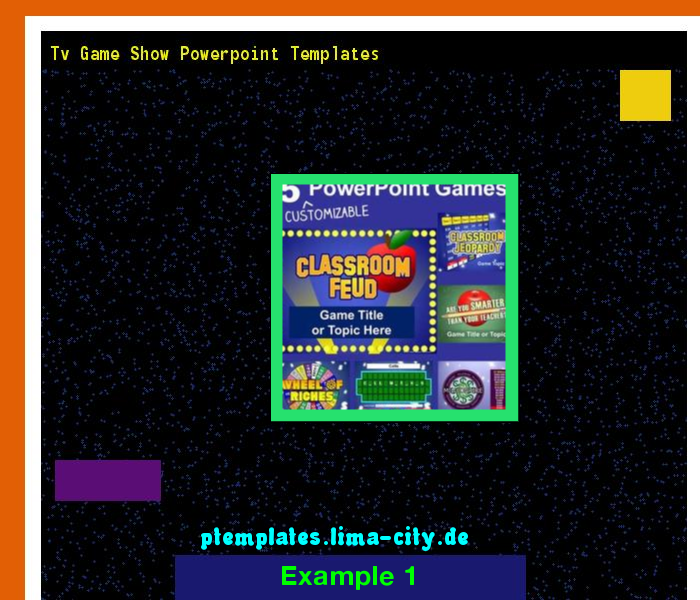 Tv Game Show Powerpoint Templates Powerpoint Templates 13423 The