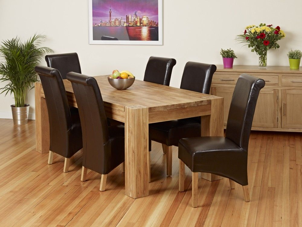 Oak Dining Table And Chairs For Room Design Ideas Are Becoming Popular Choice Nowadays Many People Prefer To Choose