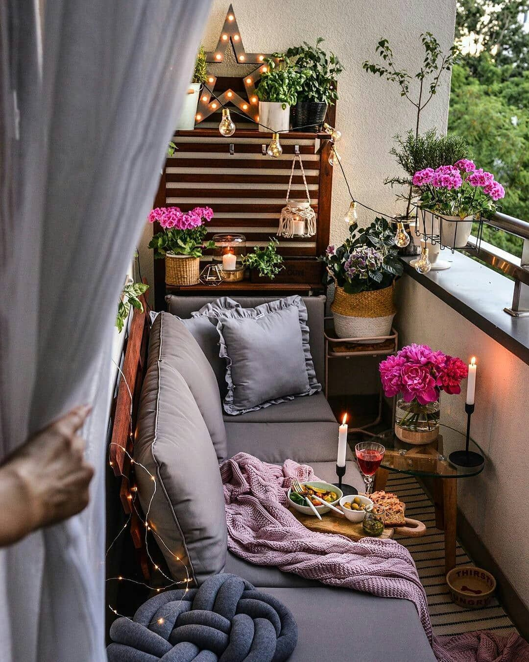 40 Cozy Balcony Ideas and Decor Inspiration 2019 - Page 23 of 41 - My Blog