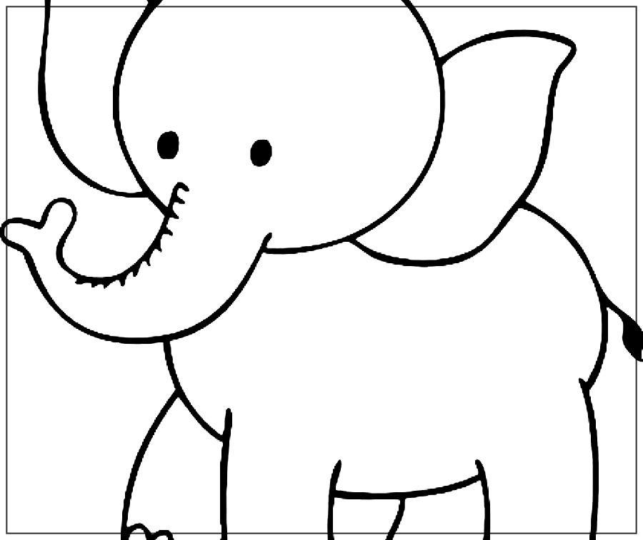 Imagenes De Elefantes Para Colorear Elefantes Para Colorear