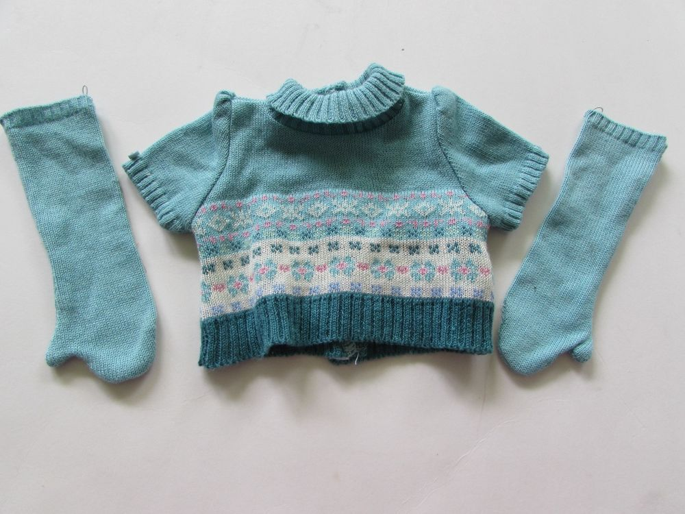 Retired American Girl of Year Mia Sweater & Gloves to 2-in-1 Skate Outfit - LE