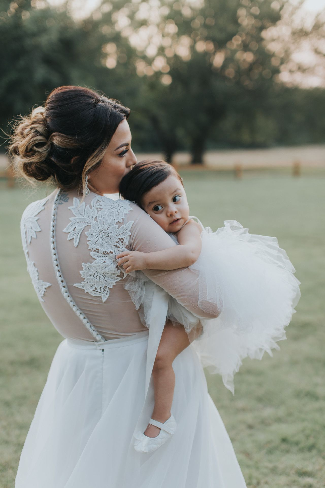7389470ea bride + her baby girl