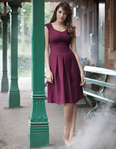 Clothing for busty women