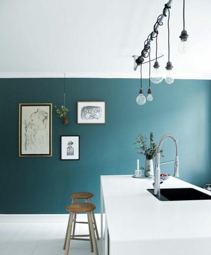 Couleur peinture cuisine 66 id es fantastiques couleur for Idee peinture cuisine tendance