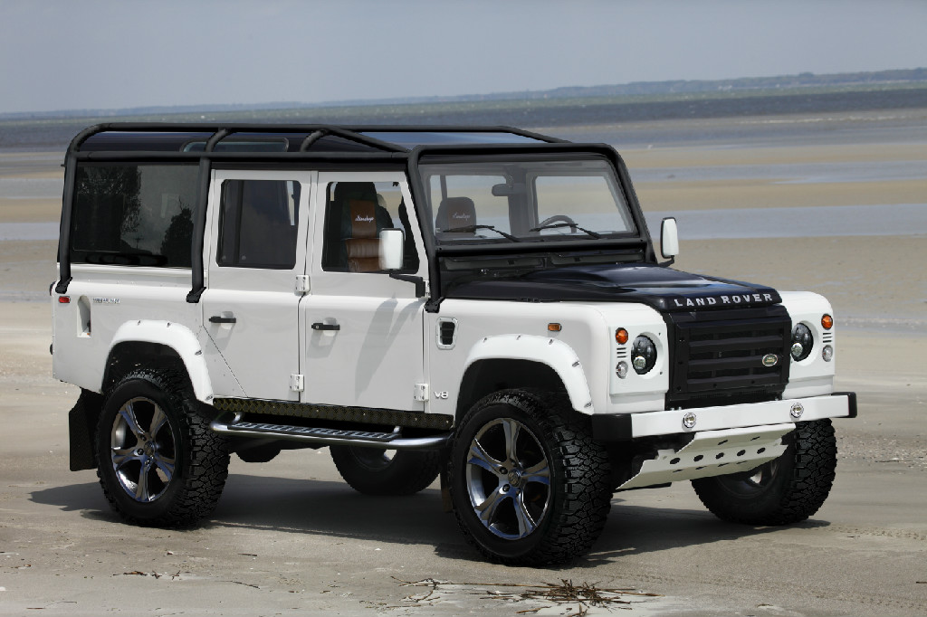 Custom Land Rover Defender 110 from Himalaya Land rover