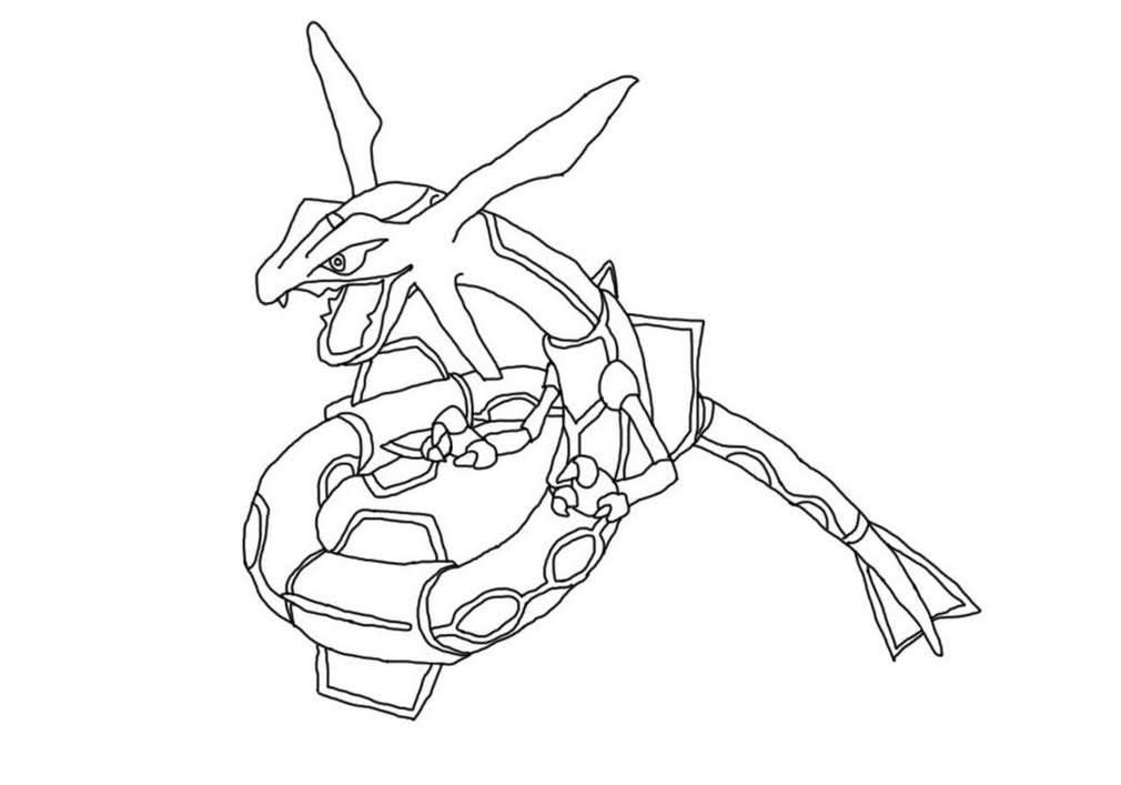 Pokemon Rayquaza Coloring Pages Printable Free In 2020 Pokemon Coloring Pages Pokemon Coloring Coloring Pages