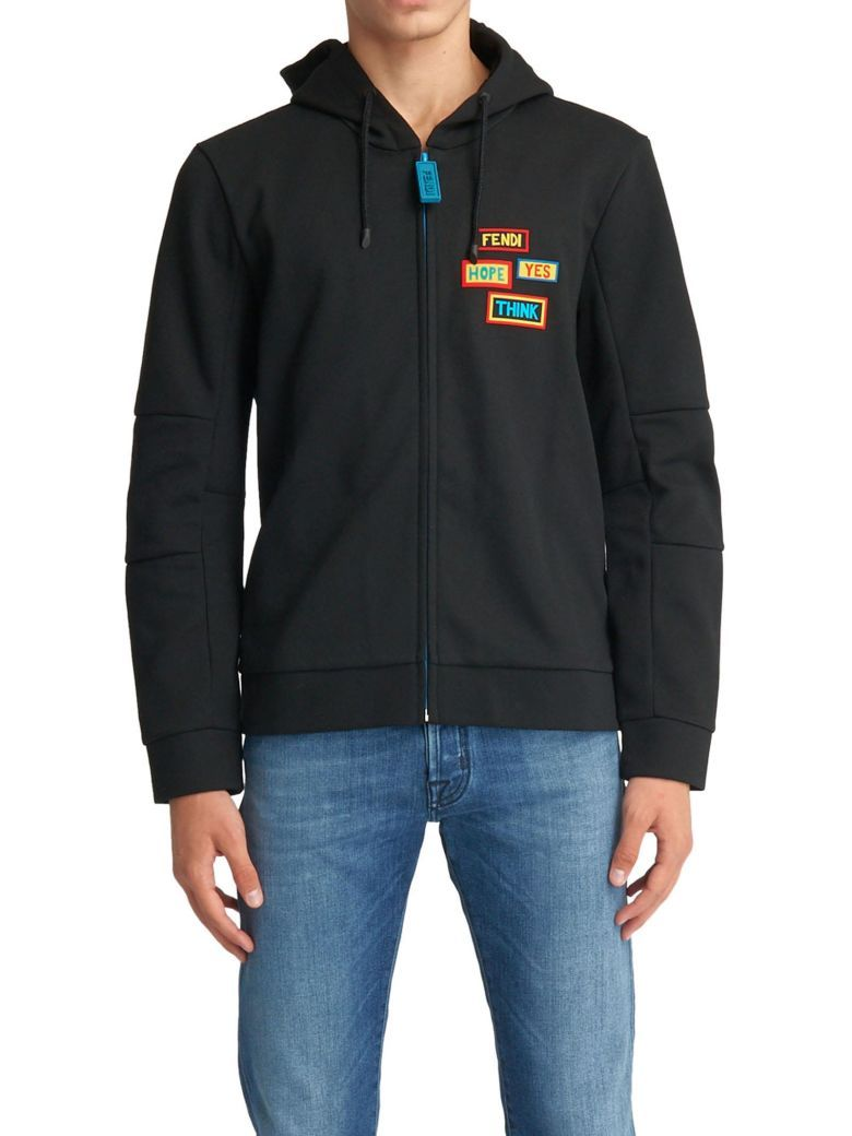 f1895cdd38 Best price on the market at italist.com Fendi BLACK FLEECES   TRACKSUITS.