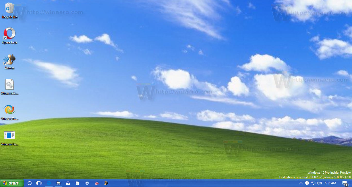 Get Windows Xp Look In Windows 10 Without Themes Or Patches Landscape Wallpaper Cute Desktop Wallpaper Cool Desktop Wallpapers