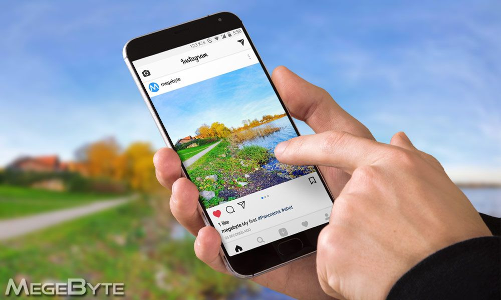 How to Post Panorama Photos on Instagram on Android Phone