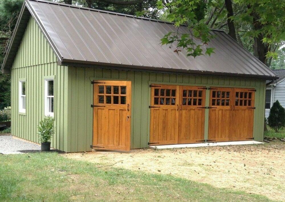 Each Order Is Custom Built To Your Specifications Ebay Carriage House Doors Garage Door Styles Carriage Doors