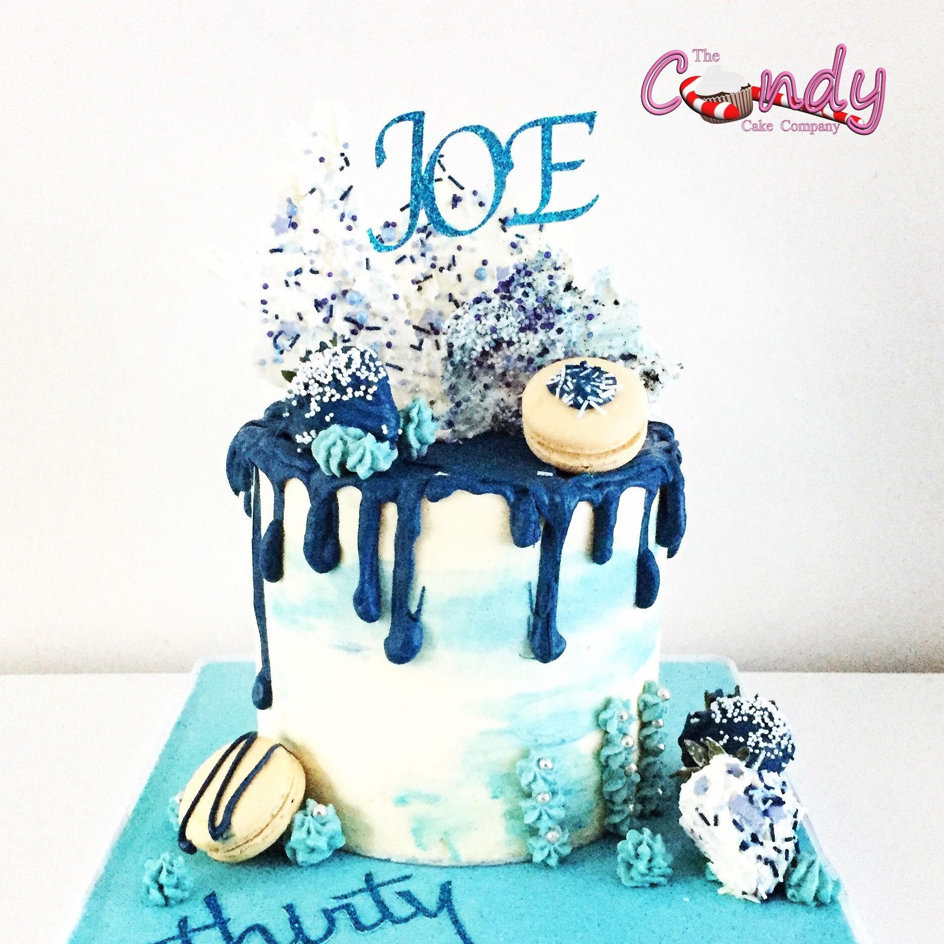 Drip cake for the man in your life wwwthecandycakecompanycom