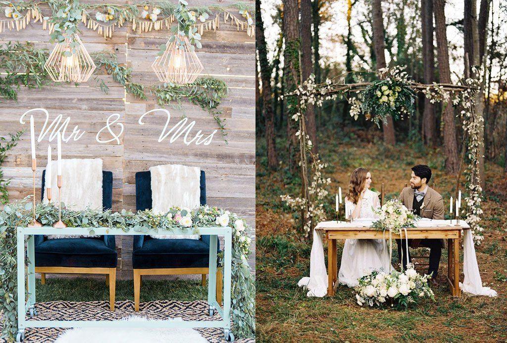 Ideas muy originales para decorar la mesa de novios boda for Ideas originales para decorar