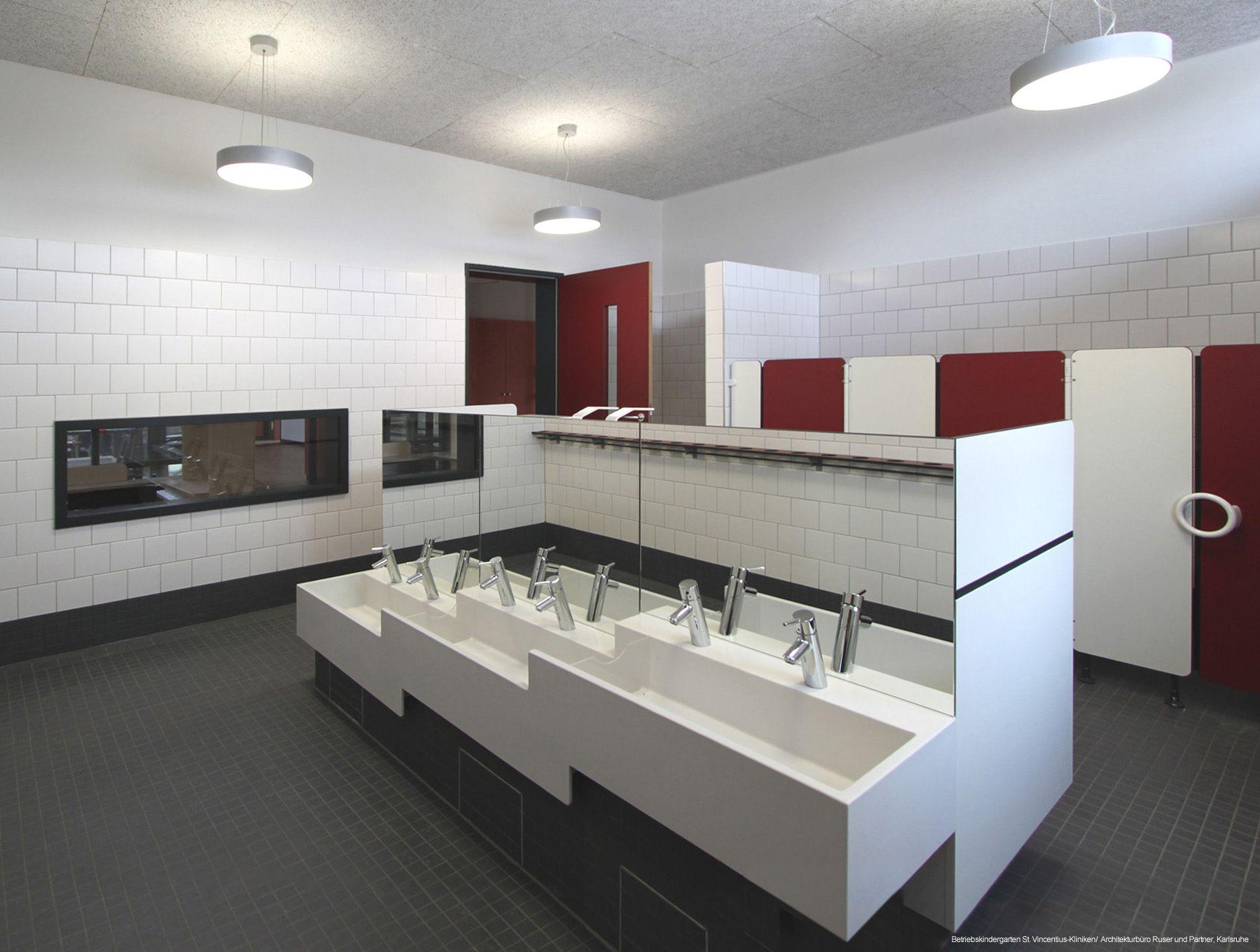 Waschrinne kita der st vincentius kliniken karlsruhe for Raumgestaltung kita