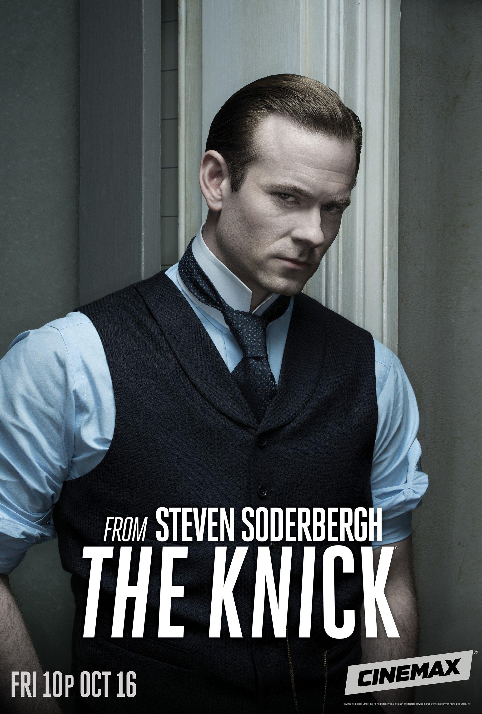 Eerste Seizoen The Knick Van Steven Soderbergh Op Blu Ray De Filmblog Eric Johnson Seizoenen Dvd