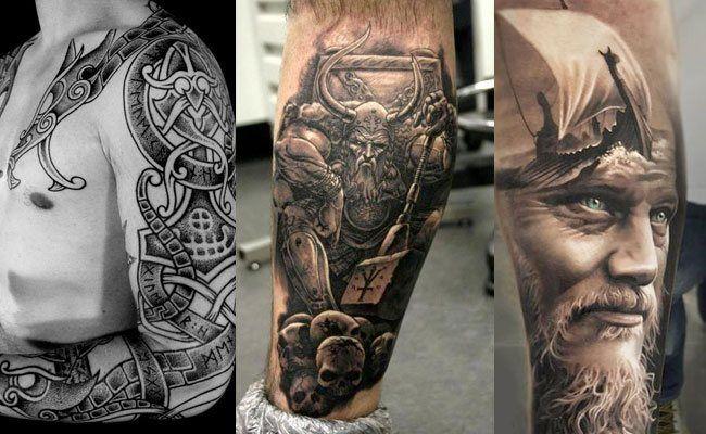 Diseños De Tatuajes Vikingos Para Hombres Y Mujeres Vikingos