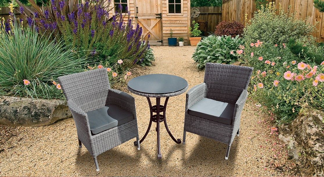 Beautiful Glencrest Sandringham 2 Seater Bistro Set