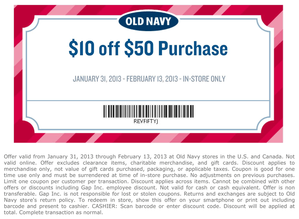 old navy coupons in store 10 off 50
