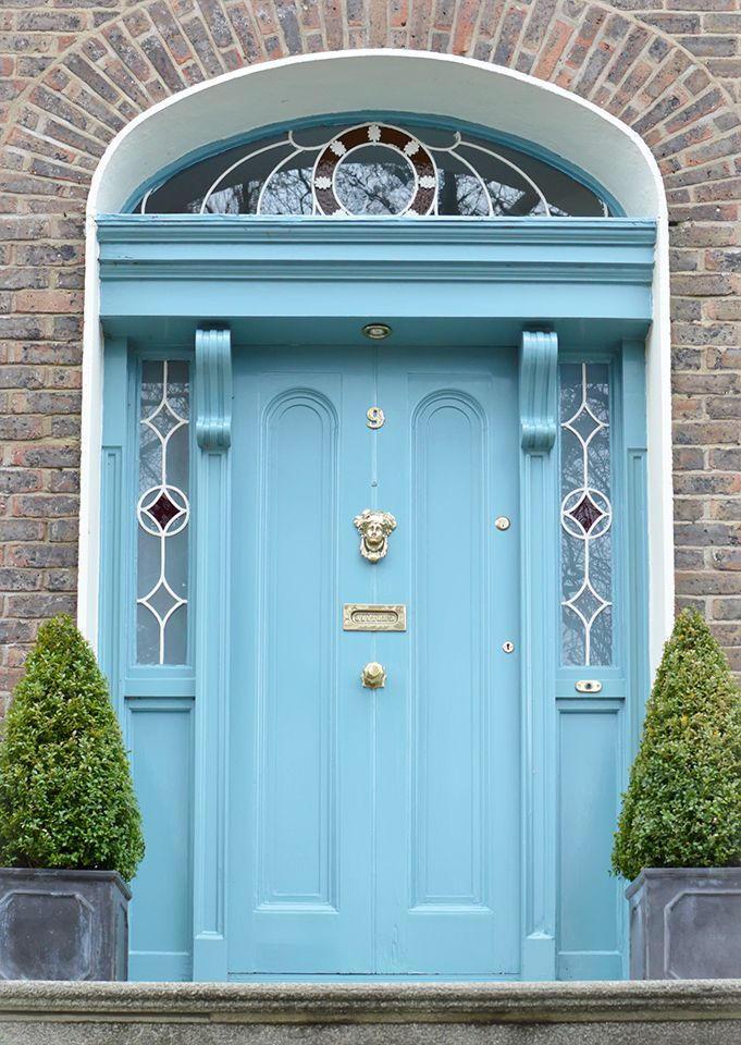 The door which located at the 9 Purser Garden, Dublin.