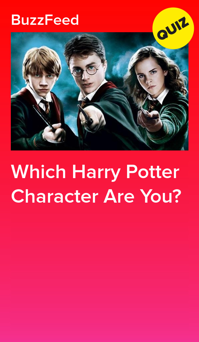 Which Harry Potter Character Are You Harry Potter Characters Harry Potter Character Quiz Harry Potter Buzzfeed
