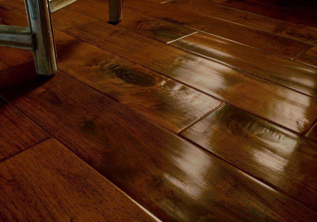 Laminated Dark Wood