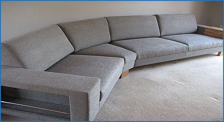 Elegant Sectional Sofa With Angled Corner Sofa Design Inspiration