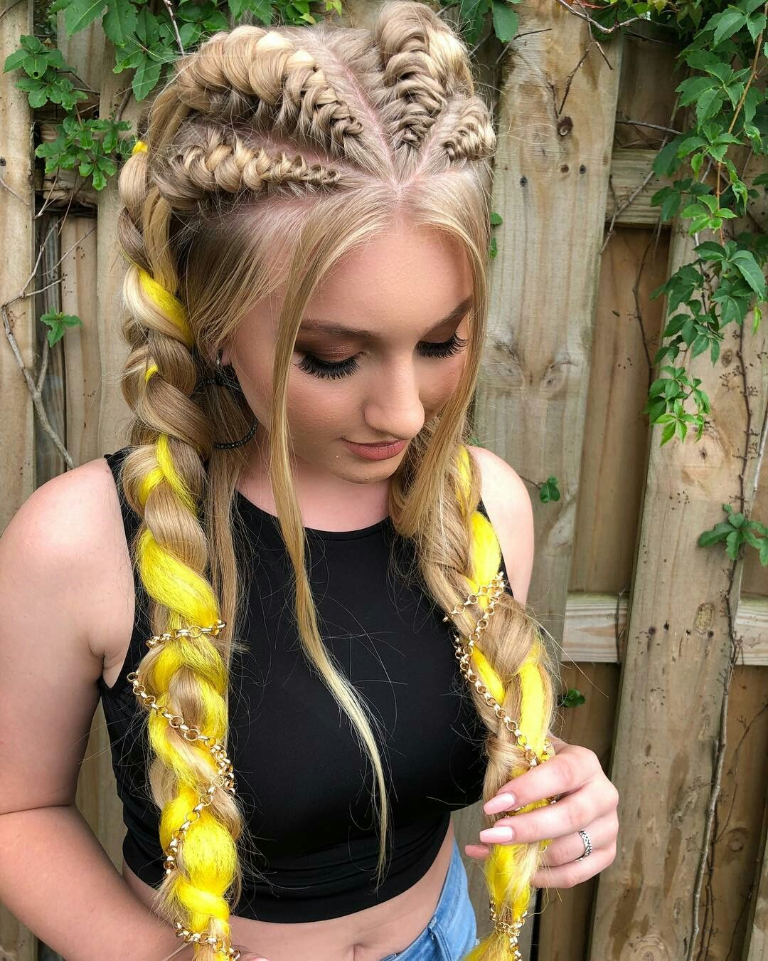 Pin by Zeisha on Hairstyle Pinterest