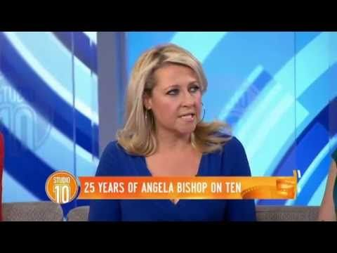 Celebrating 25 Years of Angela Bishop at Channel TEN! - The consummate host