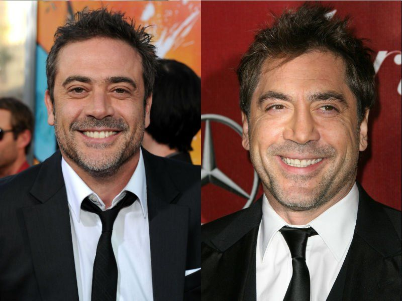 Jeffrey Dean Morgan and Javier Bardem   amazing celeb pics     Jeffrey Dean Morgan and Javier Bardem