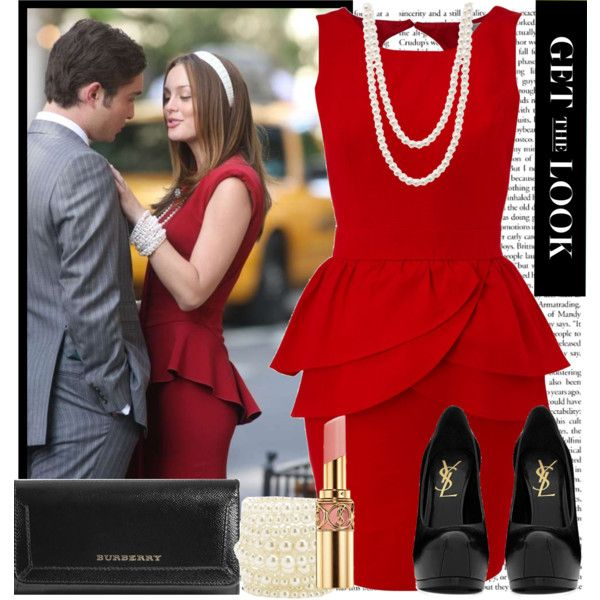 GET THE LOOK   Blair Waldorf By Karineminzonwilson On Polyvore Featuring  Polyvore, Fashion, Style