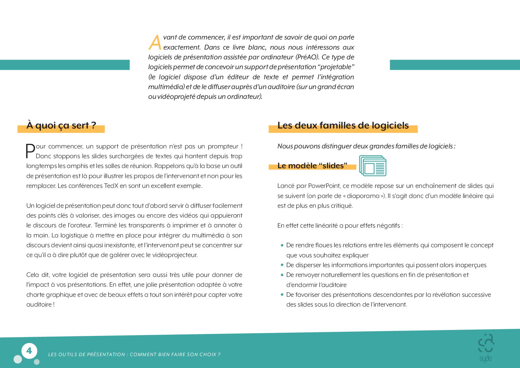 Livreblanc Lesoutilsdepresentation P4 Logiciel De Presentation Editeur De Texte Livre Blanc
