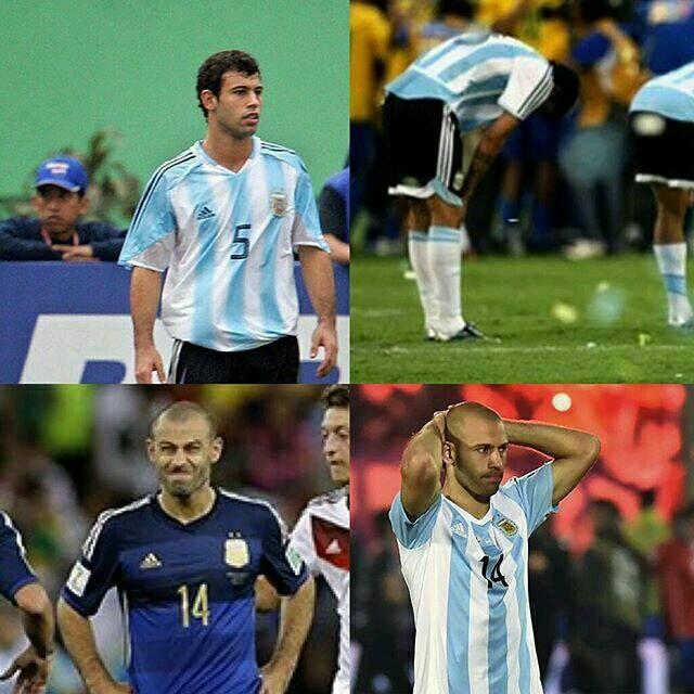 Masche Subcampeón Copa América 04 07 15 y mundial 2014... El fútbol puede ser injusto.