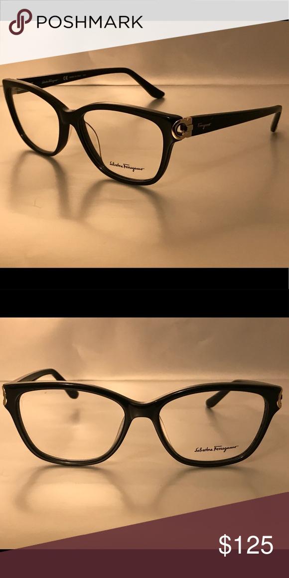 cd8acce7b0f57 Authentic Salvatore Ferragamo Eyeglass Frames Black Salvatore Ferragamo  Accessories Glasses