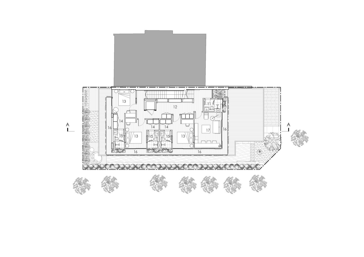 Gallery Of Camo House Wow Architects 20 Floor Plans Architect Modern House