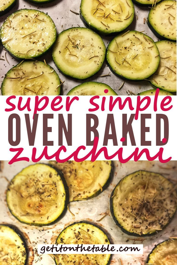 Simple roasted zucchini is part of Roast zucchini - Got zucchini  Whether it's from your garden or the local store, oven roasted zucchini is a wonderfully nutritious snack or side dish  Lightly coated in olive oil and topped with your favorite herbs, it's also delicious and, dare I say kid friendly
