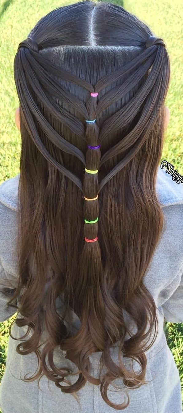 17 Adorable Heart Hairstyles - Cute Hairstyles for kids You Will LOVE! #kidshairaccessories