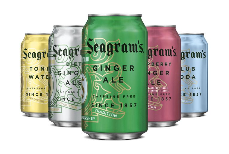 Packaging Of The World Creative Package Design Archive And Gallery Seagram S Sparkling Drinks Packaging Design Beer Packaging Creative Packaging Design