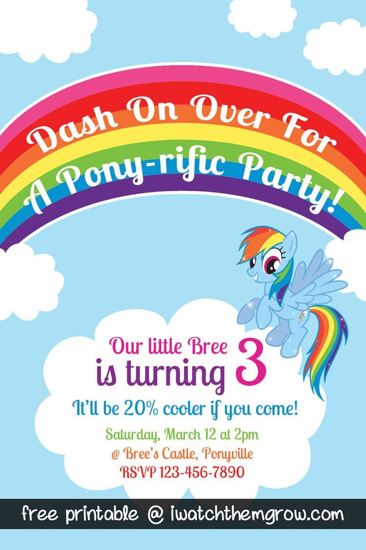 20 must have ideas for your my little pony party rainbow dash 20 must have ideas for your my little pony party filmwisefo Image collections