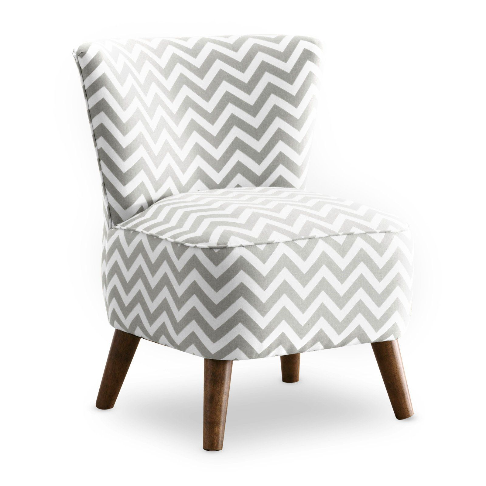 Mcm Chair Zig Zag Grey And White Accent Chairs Under