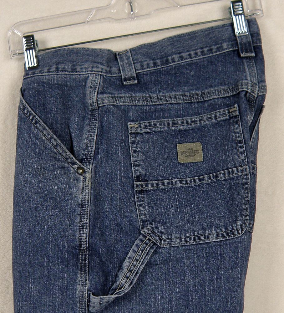 Lee Dungarees Size 16 Boys Blue Jean Cargo Shorts #Lee #Everyday